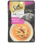 シーバアミューズ お魚フィレのスープ 蟹のほぐし身と小海老添え   40g 12コ  / シーバ Sheba