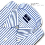 ショッピングシャツ ワイシャツ Yシャツ メンズ 長袖 | CHOYA SHIRT FACTORY | 綿100% 形態安定加工 ロンドンストライプ ボタンダウン おしゃれ