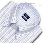 ショッピングシャツ ワイシャツ Yシャツ メンズ 長袖 | CHOYA SHIRT FACTORY | 綿100% 形態安定加工 オルタネートストライプ スナップダウン おしゃれ