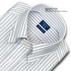日清紡アポロコット | ワイシャツ・長袖・トリプルストライプ・スナップダウン・綿100%・形態安定