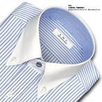 SHIRT MAKER CHOYA | ワイシャツ・長袖・ダブルストライプ・クレリック・形態安定加工