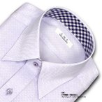 SHIRT MAKER CHOYA | ワイシャツ・長袖・ドビーチェック・スナップダウン・形態安定加工