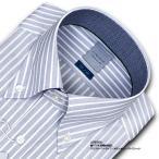 LORDSON・綿100% 形態安定 標準体・クラスターストライプ・ボタンダウン・ドレスシャツ