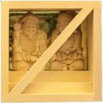 【木彫】恵比寿様・大黒様