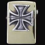 TRAVIS WALKER/DOUBLE CROSS(トラヴィスワーカー/ダブルクロス):Brass Zippo w/Red Baron(ブラスジッポw/レッドバロン)