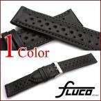 ショッピング時計 時計 ベルト バンド フルーコ・FLUCO Racing レーシング レザー 革 18mm20mm 腕時計(メ)