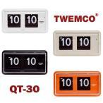 置き時計 掛け時計 インテリア おしゃれ TWEMCO トゥエンコ QT-30 インテリアクロック 置時計(宅)
