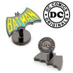 カフス カフスボタン バットマン バットロゴ バットシグナル DC ロゴ アメコミ レトロ 1960年代 ヴィンテージ DC-BAT-VTG