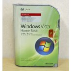 (新品)Microsoft Windows Vista Home Basic アップグレード版