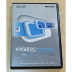 【中古品】Microsoft Virtual PC for Mac Version 7 with Windows XP Professional 日本語版 通常版