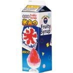 業務用 かき氷 シロップ レモン 1Lレギュラータイプ 12本入 氷みつ メーカー直送/代引不可(7-0893-0402)