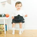 ベビー服 赤ちゃん 服 ベビー ロンパース 女の子 70 80 ボレロ付きフォーマルワンピース風ロンパース