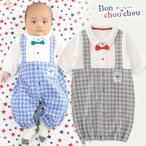 ベビー服 赤ちゃん 服 ベビー カバーオール 男の子 新生児 生まれたてベビーへ♪てんとう虫さんorみつばちさん新生児ドレス&カバーオール