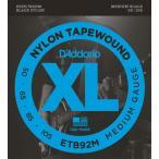 DADDARIO 0019954971779  5個 D& 039 Addario Black Nylon Tapewound ETB92M