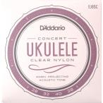 D'Addario EJ65C Pro-Arte Custom Extruded Ukulele Concert コンサートウクレレ弦