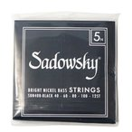 SADOWSKY SBN40B Black ブラックラベル 5弦ベース弦