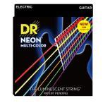 DR NEON MULTI COLOR NMCE-2/9 LITE 2PACK エレキギター弦 2セット入り