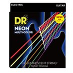 DR NEON MULTI COLOR NMCE-2/10 MEDIUM 2PACK エレキギター弦 2セット入り
