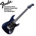 Fender Aerodyne Strat Medium Scale HSS GMB エレキギター