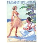 KIWAYA File-04 DREAMY PARADISE ウクレレコードクリアファイル