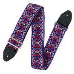 ショッピングギター ストラップ Souldier Ace Replica straps VGS484 Stained Glass Purple ギターストラップ