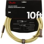 Fender Deluxe Series Instrument Cables SL 10' Tweed ギターケーブル