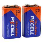 9Vアルカリ電池 2個パック PKCELL BATTERY 6LR61-2B