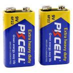 9Vマンガン電池 2個パック PKCELL BATTERY 6F22-2B