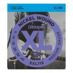 D'Addario EXL115 エレキギター弦