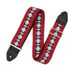 ショッピングストラップ Souldier Ace Replica straps Piller/Red/Blue ギターストラップ