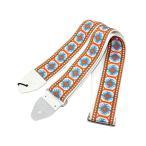ショッピングストラップ souldier Ace Replica straps Piller White/Orange ギターストラップ