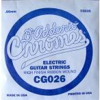 D'Addario CG026 Chromes Flat Wound バラ弦