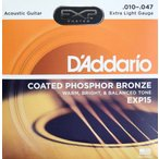 D'Addario EXP15 Coated Phosphor Bronze Extra Light