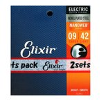 ELIXIR 12002 2パック NANOWEB Super Light 09-42 エ