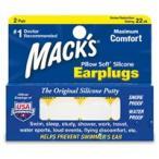 Mack's Ear Plugs 5EP Pillow Soft Silicone Earplugs ╝к└Є