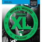 D'Addario EXL220BT Super Light 40-95 エレキベース