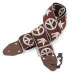 ショッピングストラップ Souldier Ace Replica straps NY Peace Dove Brown ギターストラップ
