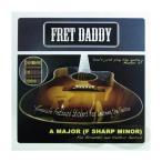 ショッピングDaddy Fret Daddy スケール教則シール メジャースケール(Aスケール) エレキ/アコースティックギター用