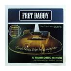 ショッピングDaddy Fret Daddy スケール教則シール ハーモニックマイナースケール(Aスケール)エレキ/アコースティックギター用