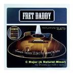 Fret Daddy スケール教則シール メジャースケール(Cスケール)エレキ/アコースティックギター用