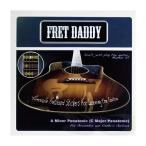 ショッピングDaddy Fret Daddy スケール教則シール マイナーペンタトニックスケール(Aスケール)エレキ/アコースティックギター用