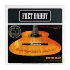 Fret Daddy スケール教則シール フレットボードノートマップ クラシックギター用