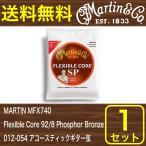 MARTIN MFX740 マーチンアコースティックPhosphor弦1セット