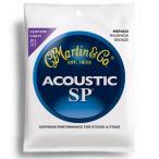 MARTIN MSP4050 92/8 Phosphor Bronze Custom Light アコースティックギター弦×3SET