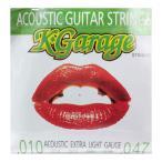 K-GARAGE A/G 10-47 Extra Light アコースティックギター弦×3セット