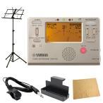 YAMAHA TDM-700G ゴールド チューナーメトロノーム ARIA AMS-40B 譜面台付き 管楽器 吹奏楽 入門用5点セット