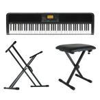 KORG XE20 DIGITAL ENSEMBLE PIANO 88鍵盤 自動伴奏機能付き 電子ピアノ キーボードスタンド キーボードベンチ 3点セット [鍵盤 Bset]