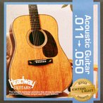 HEADWAY AG Strings Extra Light 011-050 アコースティックギター弦×10セット