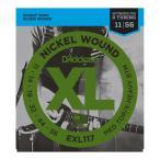 D'Addario EXL117 Medium top X-Heavy Bottom for Drop D Tuning エレキギター弦×3SET