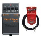 BOSS MT-2 3Mシールドケーブル付き メタルゾーン エフェクター